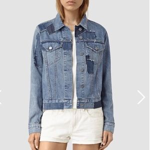 All saints Jean Jacket
